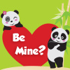 valentine - panda be mine