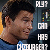 Sky: [star trek tos] bones cheezburger