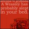 Gryffindor Weasley