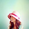 Caitlin: blair > season 3 pink hat