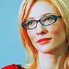 Cate in glasses