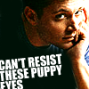 Andrea: Dean - can´t resist these puppy eyes
