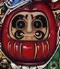 Daruma from the Morbidly Adorable Tarot