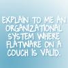 explain to me an organizational system w