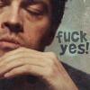 hrymfaxe: Castiel fuck yes