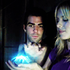 Meredith: Elle and Sylar - blue