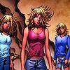 Celeste, Mindee & Phoebe Cuckoo.: [three] determined