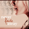 something clever: never fade away