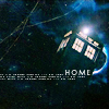 dr who:tardis home