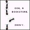 shiny, bookstore