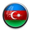 Azeri flag circle