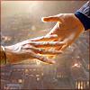 Doctor Caecilius hands