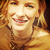 Cate in gold