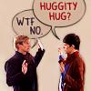 TRISAYRUHTOPZ !: merlin - huggity hug?