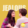 Creddie, Jealousy, Carly and Freddy love, Carly and Freddie