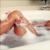 Natalie Ann Bruenner: hot bath (stock)