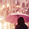 [gen] pink umbrella
