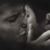 Tiptoe39: dean/cas kiss