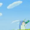 Anime: Yunihiko drinking