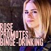 Hoshi: Doctor Who: Rose - binge drinking