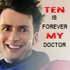 johnsheppardluv: ten is forever MY Doctor