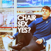 st; mccoy; you want to be that chair