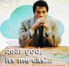 SPN Dear God Cas by nejisthecoolest
