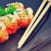 A - Sushi oishi desu!
