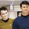 SamuelJames: Star Trek-McCoy/Chekov smiling