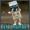 A carbonated fusion beverage!: milky mambo
