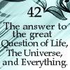 42, answer