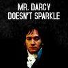 darcy doesn;t sparkle