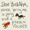 buddha bring me a pony