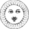 солнце усатое
