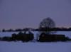 winter, abandoned farmhouse