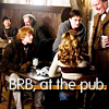 hp - brb at the pub