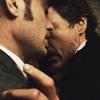 Holmes/Watson Hug