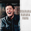 deangirl1: Dean laughing