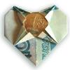 денежное сердце