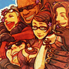 .one of neither and both.: Bayonetta: strangest biffles ever ftw