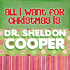 want sheldon xmas