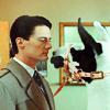 chug-a-lug, donna: tv: twin peaks: staredown