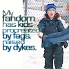 Pam81: Gus: My fandom has kids...