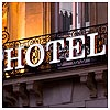Hotel. Sign