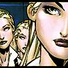 Celeste, Mindee & Phoebe Cuckoo.: [three] faint smiles