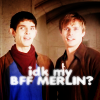 merlin | M/A | idk my bff merlin
