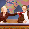 i think of what i've done... you know it all.: SNL // Seth&Amy // Tie