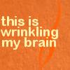 community | brain wrinkled