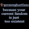 Gormenghast: Meta | Small Fandom is Smal
