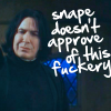 borg_princess: snape-doesnotapprove